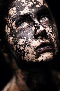 peeling peau blanche et peeling peau noire